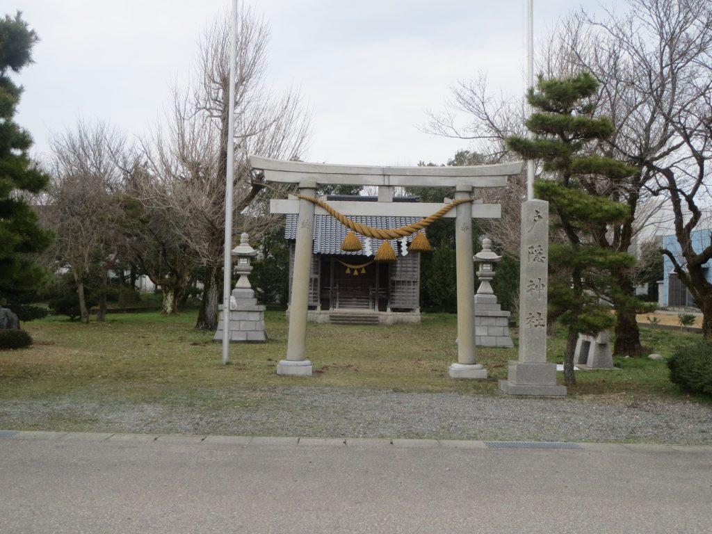 戸隠神社(高岡市石代)