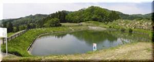 ため池(北山池)